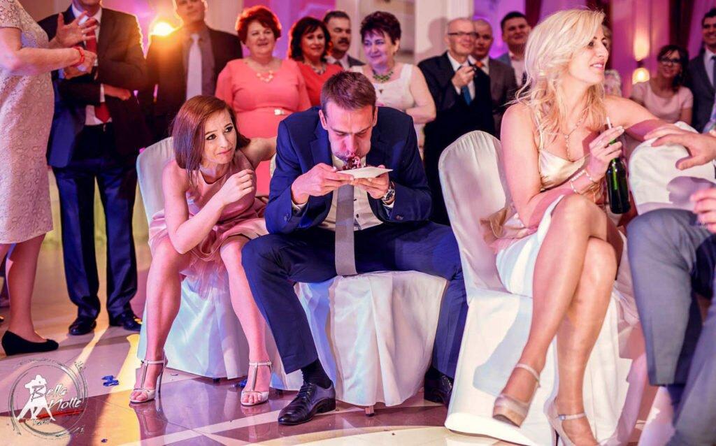atrakcje weselne, oczepiny i zabawa