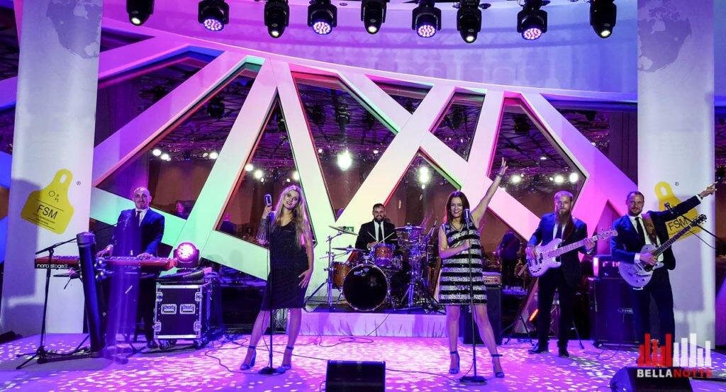 Zespół muzyczny impreza firmowa Warszawa - BellaNotte cover band